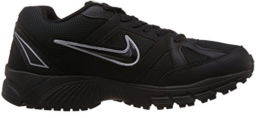 Nike Mens Free Rn Distance Black / Bright Mango-dark Loden 13.0
