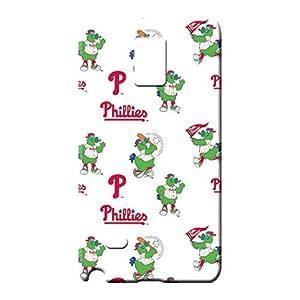 samsung note 4 Attractive PC Fashionable Design cell phone shells philadelphia phillies mlb baseball