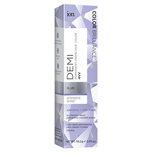 Galleon Ion Intensive Shine 4vv Plum Demi Permanent Creme Hair