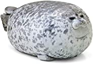 MerryXD Chubby Blob Seal Pillow,Stuffed Cotton Plush Animal Toy Cute Ocean