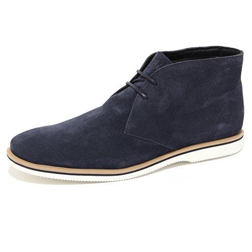 3849Q CLUB polacchino Blu blue HOGAN uomo scarpa men DERBY blu suede xRRqUrn