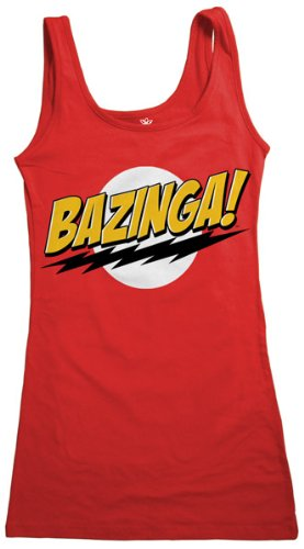 Big Bang Theory Bazinga Juniors Tank Dress