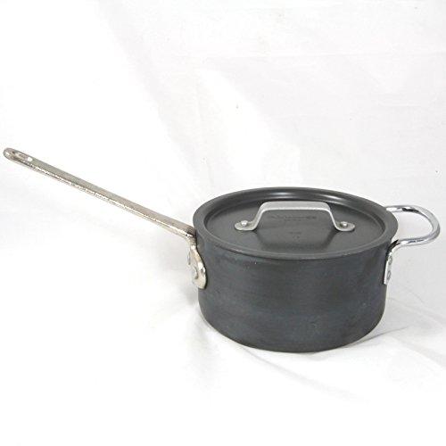 Calphalon Professional Hard-Anodized 2-1/2-Quart Sauce Pan with Lid, - Pan Cast Iron Calphalon