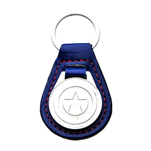 Official Marvel,Captain America Shield Leather Fob for sale  Delivered anywhere in Canada
