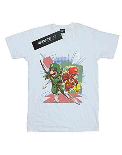 Hombre Absolute Camiseta Poopsmoothie Cult Super Plomeros Blanca q7fRgwf