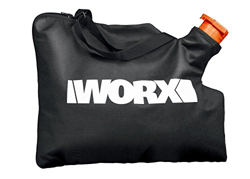 WORX 50026858 Trivac Collection Blower and Vacuum Bag, Black ()