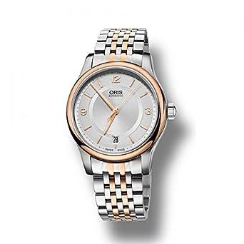 Oris Herren Herren Armbanduhr bicolor Classic Date