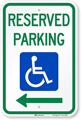 Handicap Traffic Sign -