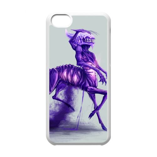 Bane 003 coque iPhone 5c cellulaire cas coque de téléphone cas blanche couverture de téléphone portable EOKXLLNCD26700