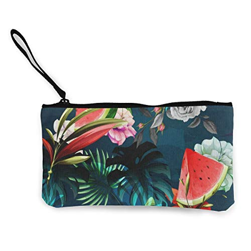 Canvas Coin Purse Floral...