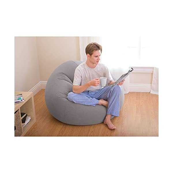 Super Intex Beanless Bag Inflatable Chair 42 X 41 X 27 Dailytribune Chair Design For Home Dailytribuneorg