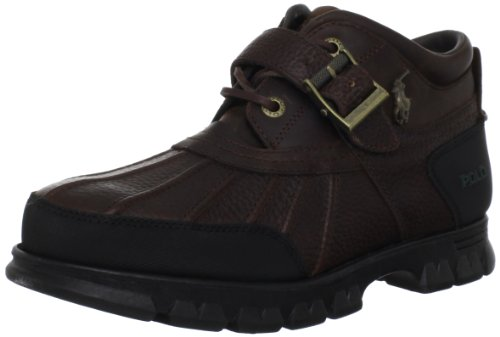 Image of Polo Ralph Lauren Men's Dover III Hiking Boot, Mid Brown/Mid Brown, 9 D US
