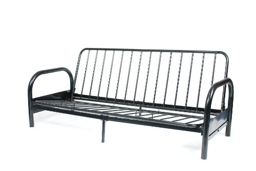 roundhill furniture black metal futon frame convertible sofas  u0026 futons under  200  rh   furniture