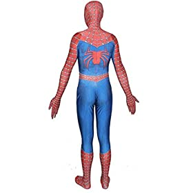 - 41EbWAAwjpL - Unisex Lycra Spandex Zentai Halloween Cosplay Costumes for Audlt/Kids:Homecoming