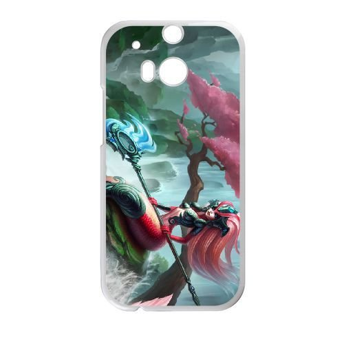 HTC One M8 phone case White nami league of legends ...