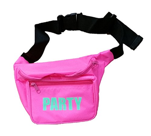 [Funny Guy Mugs PARTY Fanny Pack, Pink] (Ideas For Halloween Costumes For Guys)