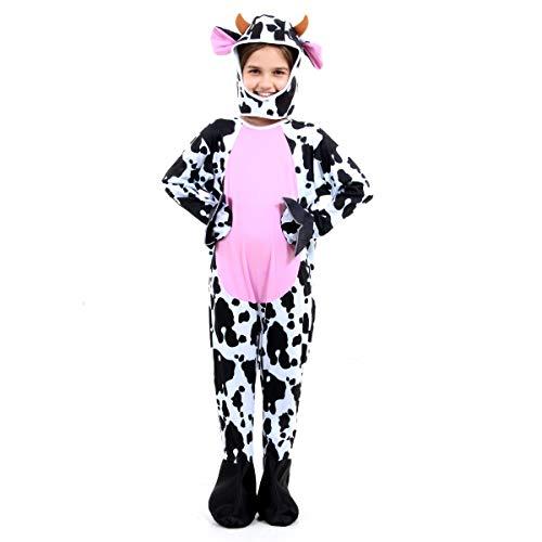 Fantasia Vaca Infantil Sulamericana Fantasias P-3 Anos