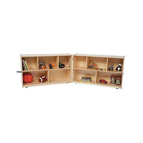 Wood Designs Kids Play Toy Book Plywood Organizer Wd13118 X-Deep Folding Storage, 30''H by Wood Designs