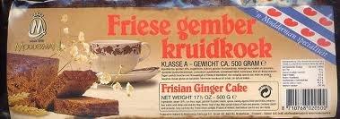Modderman Frisian Ginger Cake 17 Oz (15 Pack Case)
