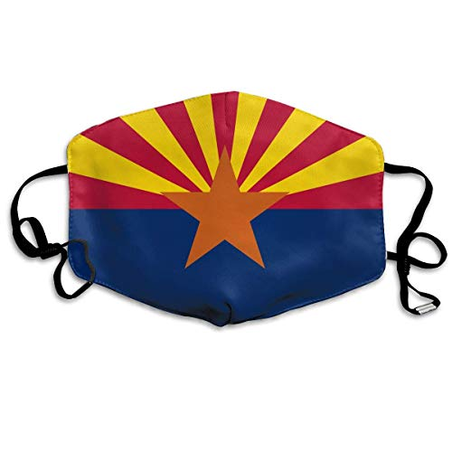 (Arizona USA State Flag.png Allergy & Flu Mask - Comfortable, Washable Protection from Dust, Pollen, Allergens, Cold & Flu Germs Antimicrobial; Asthma)