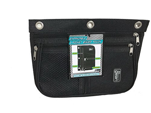3 Pocket Expandable Binder Pouch (black) by TechGear