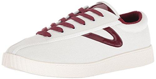 Tretorn Women's NYLITE28PLUS Sneaker, Ivory, 7 M US
