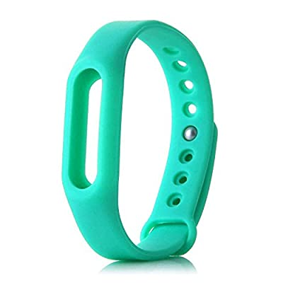 Idol® Colorful Waterproof Replacement Band for XiaoMi Wireless Wristband Bracelet (No Activity Tracker)-Seagreen