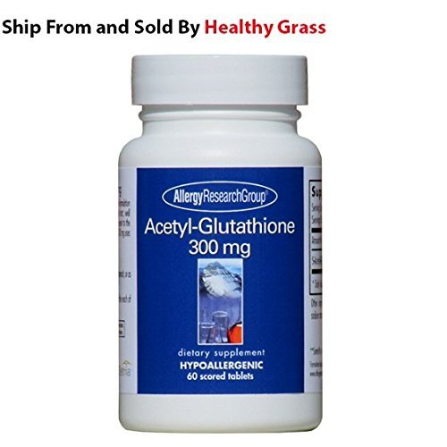 Allergy Research Group- Acetyl Glutathione 300 mg 60 tabs