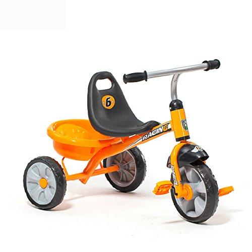 XQ 子供 軽量 EVA発泡ホイール 三輪車 1-3-5歳 子ども用自転車 ( 色 : オレンジ ) B07C6W8CHK オレンジ オレンジ