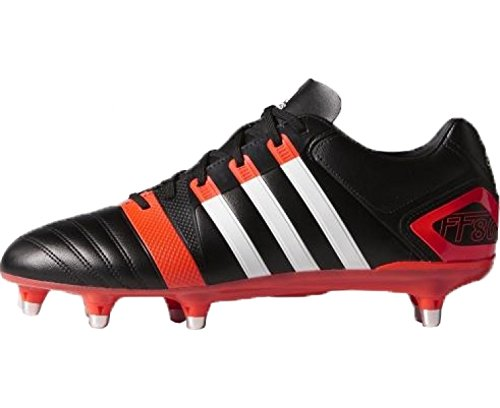 Amazon.com | adidas AW14 FF80 PRO XTRX SG II Rugby Boots - US 8.5 - Black/Infra Red | Rugby