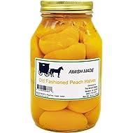 Amish Old Fashioned Peach Halves - TWO - 32 Oz Jar