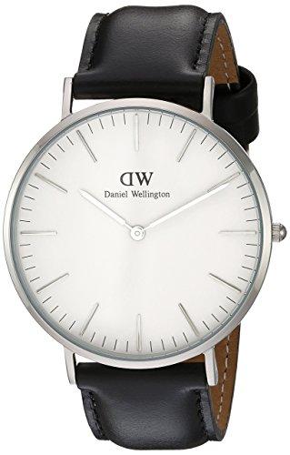 Daniel Wellington Men's 0206DW Sheffield Watch with Black Leather ()
