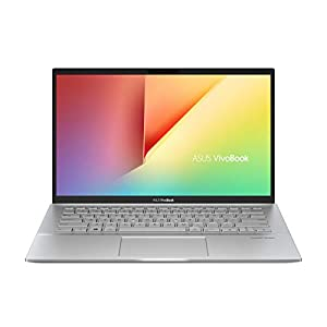 ASUS VivoBook S14 S431FA-EB511T Intel Core i5 8th Gen 14-inch FHD Thin & Light Laptop (8GB RAM/512GB PCIe SSD/Windows 10/Integrated Graphics/1.4 Kg), Transparent Silver
