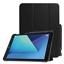Fintie Samsung Galaxy Tab S3 9.7 Case, Ultra Lightweight Slim Shell Standing Cover with S Pen Protective Holder Auto Sleep / Wake for Tab S3 9.7-Inch Tablet (SM-T820/T825) 2017 Release, Black