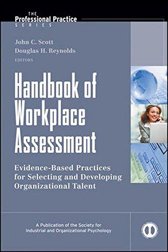 Handbook of Workplace Assessment