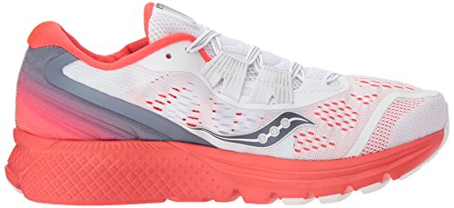 Women's Running ISO Red Shoe Saucony White 3 Zealot 1nx7q8d