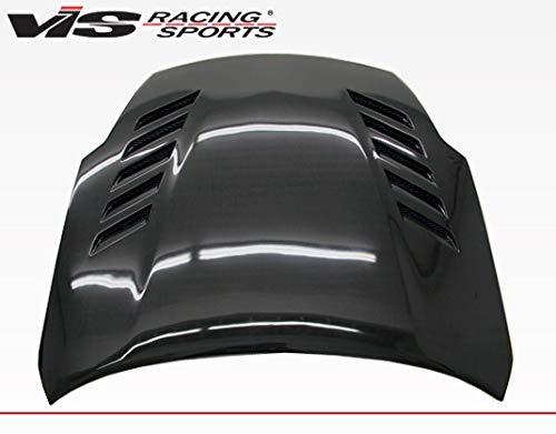 VIS Racing (VIS-NXO-315) Black Carbon Fiber Hood Astek Style for Nissan 350Z 2DR 03-08 ()