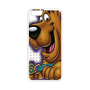 """UNI-BEE PHONE CASE For Apple Iphone 6,4.7"""" screen Cases -Cute Dog Scooby-Doo-CASE-STYLE 20"""
