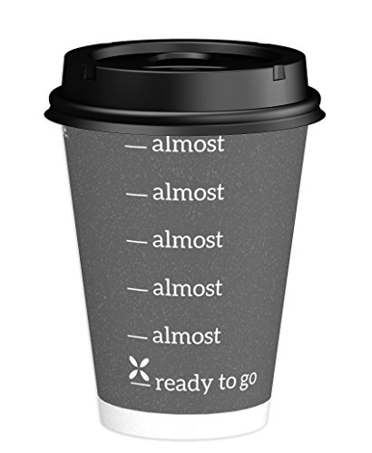 Dixie To Go Hot Beverage Cups & Lids, 12 Oz, 156 count, Assorted Designs, 6 Packs of 26 Count, Disposable Paper Coffee Cups & Lids by Dixie (Image #8)