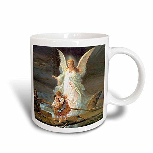 Angel Cup - 3dRose Guardian Angel Mug, 11-Ounce