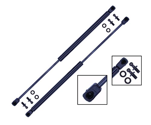 2 Pieces (SET) Tuff Support Hatch Lift Supports 1976 To 1983 Toyota Corolla / 1982 To 1985 Toyota Celica / 1980 To 1983 Nissan 200 SX / Datsun 200 SX