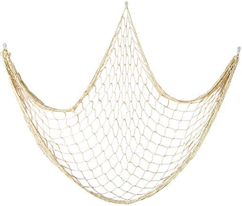 Details about  /Creative Nautical Fishing Net Seaside Wall Beach Party Sea Home Decorative LL