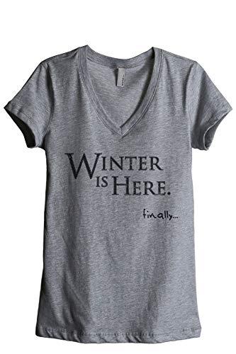 Thread Tank Winter is Here Finally Women