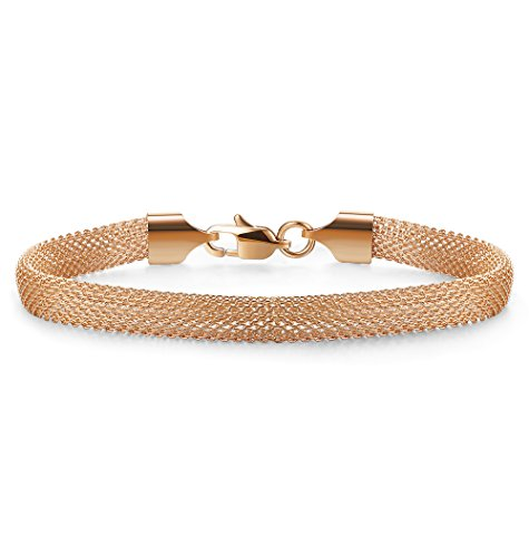 Jstyle Mesh Bracelet Stainless Steel chain Link Bracelets for Women Girls 7