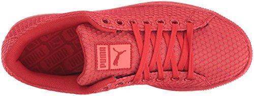 Cesto Da Uomo Puma Classico Notte Camo Moda Sneaker Rosso Esplosione