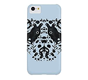 Bamboo Forest iPhone 5c Beau blue Barely There Phone Case - Design By Humans
