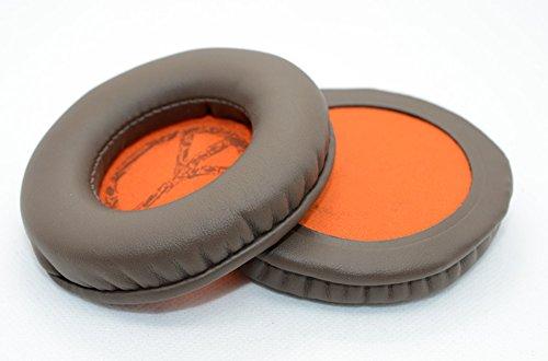 YunYiYi Replacement Ear Pads Foam Earpads Pillow Ear Cushion Cover Repair Parts for Skullcandy HESH 2 HESH2 HESH 2.0 NBA Headphones Headset Earphone (Brown)