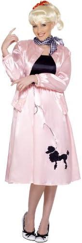 Smiffys - Disfraz de los años 60 para mujer, talla UK 12-14 ...