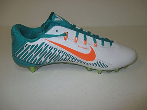 Nike Damp Carbon Elite Td Heren Voetbalcleats Aqua / Oranje / Wit