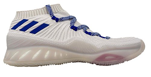 Adidas Crazy Explosive 2017 Primeknit Low Shoe Mens Basketball White-collegiate Royal-scarlet